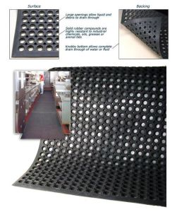 Oil Resistance Rubber Mat Drainage Rubber Mat Hotel Rubber Mats pictures & photos