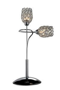 Phine Pd0016-02 Metal Desk Lamp with Crystal Shade pictures & photos