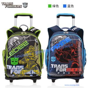 Transformer Eggshell Shaped Trolly Backpack, School Bag