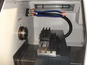 High Quality Small Mini CNC Lathe Machine pictures & photos