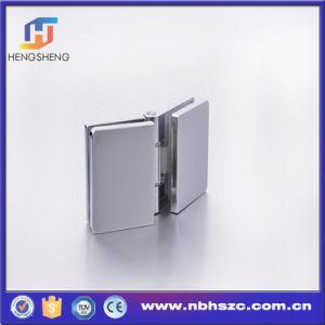 Zinc Alloy Adjustable Shower Room Door Glass to Glass Hinge pictures & photos