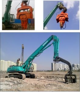 Hydraulic Vibro Hammer for Sheet Pile