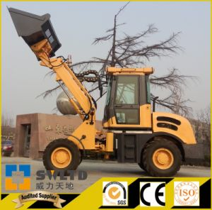Telescopic Boom Wheel Loader with 1.5 Tons Lifting Capacity pictures & photos
