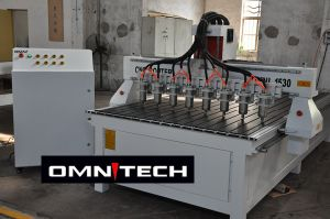 Wood Working Machine 8 Spindle CNC Router for Furniture