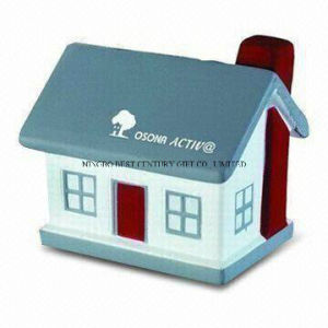 Hot Sale PU Stress Reliever House Style