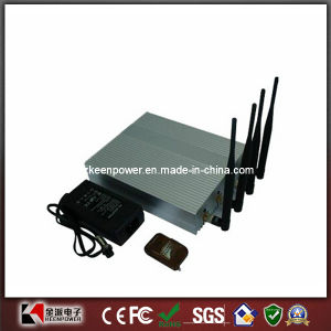 Desktop Mobile Phone Signal Jammer Blocker with Remote pictures & photos