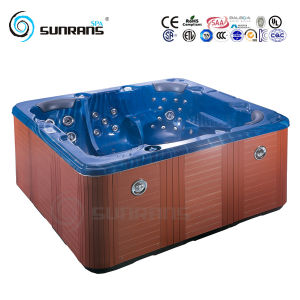PVC Skirt Freestanding Shower Massage Indoor Hot Tub Bathtub pictures & photos