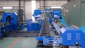 Pipe Cutting Band Saw Machine with Length Measuring System pictures & photos