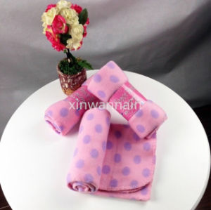 High Quality 100% Polyester Polar Fleece Blanket (XSM-SM012)