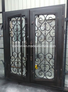 Gorgeous Home Used Wrought Iron Security Doors Exterior Position pictures & photos