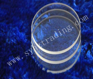 High Transparency and Temperature Quartz Plate 8mm 15mm