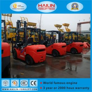 3.0ton Forklift with Cabin pictures & photos