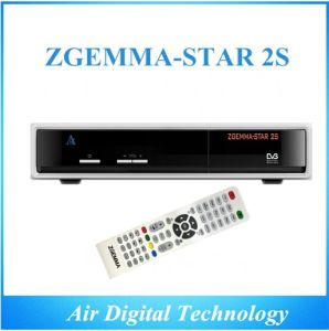 Full HD 1080P DVB S2 Digital Satellite Receiver Zgemma-Star 2s Multi Channel Digital Satellite Receiver Decoder pictures & photos