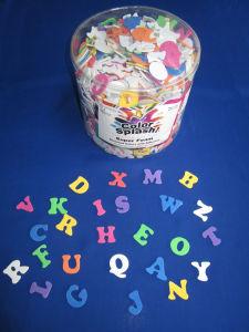 1/2 Lb Foam Alphabet Adhesive for Toys (AC756)