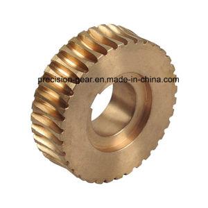 Brass Worm Gear, Worm Wheel Gear pictures & photos
