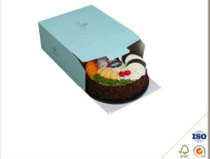 Custom Printed Corrugated Boxes with One Color Print for Cupcake Packaging pictures & photos