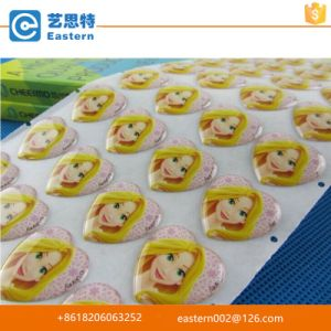 High Quality Label Printing Custom Epoxy Resin Self Adhesive Dome Sticker pictures & photos