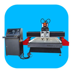Bytcnc 1325-II Double Bead Two Spindle CNC Router Machine for Furniture Factory pictures & photos