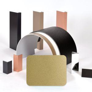Aluis Interior 4mm Fire-Rated Core Aluminium Composite Panel-0.18mm Aluminium Skin Thickness of Polyester Gold Metallic pictures & photos