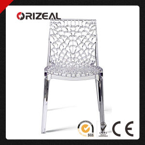Designer Gruvyer Plastic Crystal Dining Chair (OZ-1187PC) pictures & photos