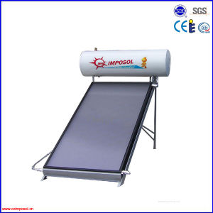 High Quality Compact Flat Plate Solar Water Heater Collector System pictures & photos