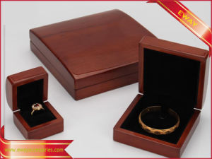 Fashion Jewelry Wooden Packing Box Earring Wooden Box pictures & photos