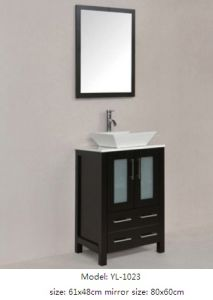 Bathroom Vanity Furniture with Ceramic Basin pictures & photos
