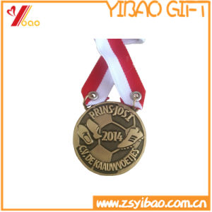 Custom Antique Brass Plated Metal Medals (YB-LY-C-16) pictures & photos