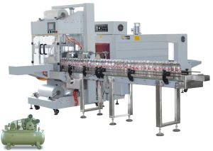 Sleeve Wrapping+Shrink Tunnel Packaging Machine