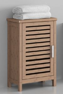 Carbonized Horizontal Solid Bamboo Storage Cabinet pictures & photos