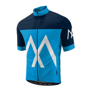 Men′s Short Sleeve Outdoor Sports Cycling Jersey Full Zip pictures & photos