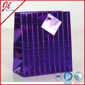 Holographic Foil Voila Paper Bag pictures & photos