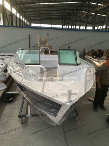 18FT 5.65m Factory Supply Aluminium Leisure Fishing Yacht pictures & photos