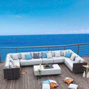 L Shape Outdoor Leisure Sofa Garden Furniture Rattan Sofa (S233) pictures & photos