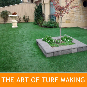 Garden and Playground Synthetic Lawn and Artificial Grass Lawn