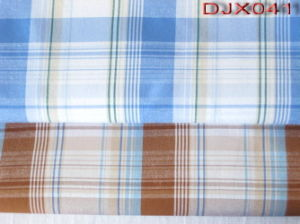 Checks Yarn Dyed Fabric Shirting Djx041 pictures & photos