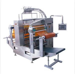 Liquid Double Film Four-Side Sealing & Multi-Line Packing Machine pictures & photos