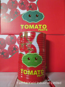 Tomato Paste (28-30%brix) (canned food) (4500g*6tins/carton)