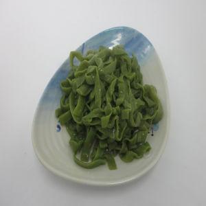 Shirataki Spinach Fettuccine Konjac Pasta pictures & photos