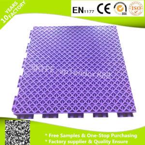 Interlock Plastic Flooring for Playground Sports PP Flooring Tiles pictures & photos