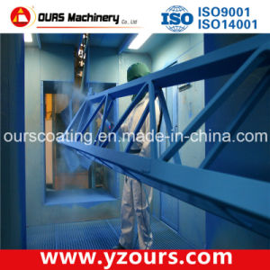 Manual Paint Spraying Booth for Steel Structures pictures & photos