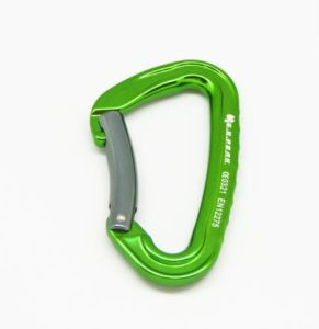 Super Tech Screw Carabiner Green Locking Carabiners New Color Keylock. pictures & photos