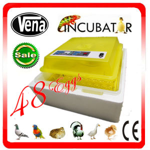 48 Chicken Eggs CE Approved Full Automatic Chicken Egg Incubator for Sale pictures & photos