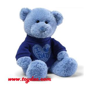 Plush T-Shirt Blue Bear pictures & photos
