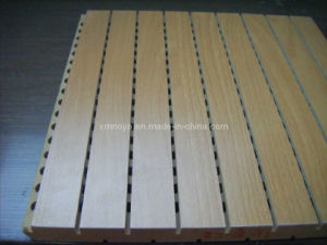 3/13 or 3/29 Stripes Grooved Design Wooden Timber Acoustic Panel pictures & photos