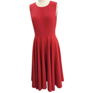 Woman Sleeveless Long Fashion Dress