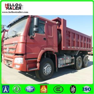 Sinotruk 6X4 Dump Truck 10wheels HOWO Heavy Duty 21 - 30t Capacity (Load) Tipper Truck for Sale pictures & photos