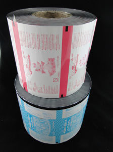 Beautiful Painting Automatic Packaging Plastic Film Roll pictures & photos