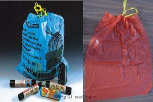 Ribbon Through Continous Rolling Garbage Bag Making Machine pictures & photos