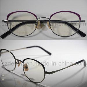 High Quality Custom Full Rim Round Beta Titanium Spectacle Frames pictures & photos